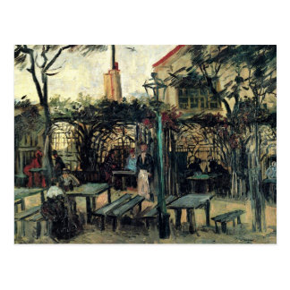 Carte Postale Terrasse sur la La Guinguette de Montmartre par