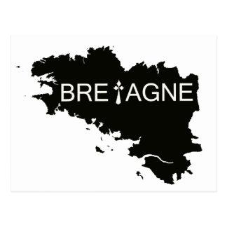 CARTE POSTALE TERRE DE BRETAGNE