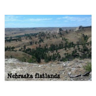 Carte Postale Terres plates du Nébraska (faites regard de ya)