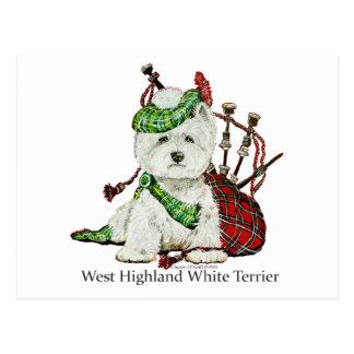 Carte Postale Terrier des montagnes occidental
