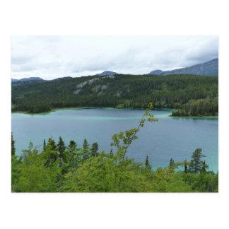 Carte Postale Territoire de lac vert, le Yukon