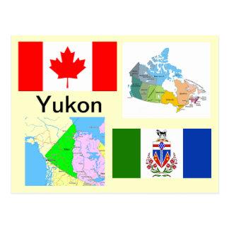 Carte Postale Territoire de Yukon Canada
