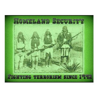 Carte Postale Terrorisme de combat de sécurité de patrie depuis