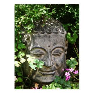 Carte Postale Tête de Bouddha