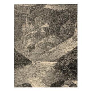 Carte Postale Tête de canyon grand