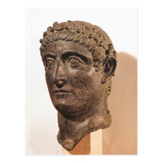 Carte Postale Tête de Constantine le grand