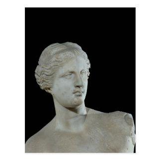 Carte Postale Tête de la Vénus de Milo, c.100 AVANT JÉSUS CHRIST