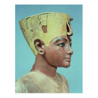 """Carte Postale Tête d'un """"simulacre"""" du jeune Tutankhamun"""