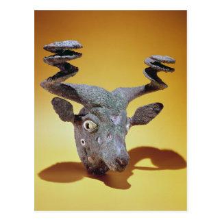 Carte Postale Tête d'un Taureau, d'Irak, c.2000 AVANT JÉSUS