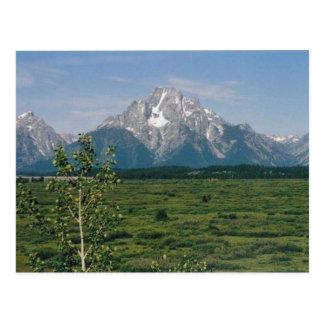 Carte Postale Tetons grand, Wyoming