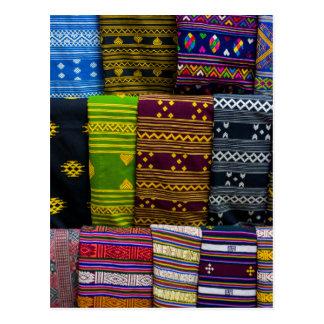 Carte Postale Textiles de tissu à vendre