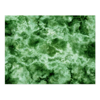 Carte Postale Texture de marbre verte