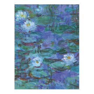 Carte Postale Texture impressionniste