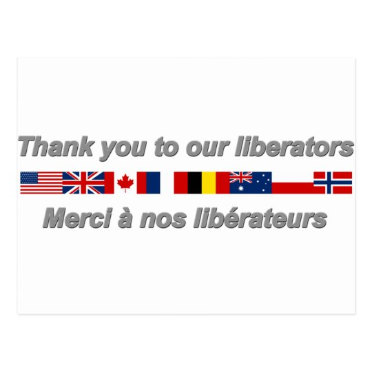 Carte Postale thank_you_to_our_liberators.png