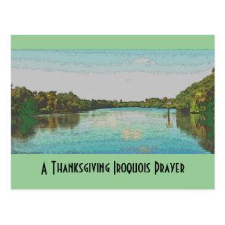 Carte Postale Thanksgiving Iroquois