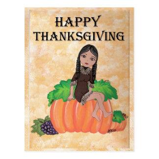 "Carte Postale Thanksgiving Quantum Cutie de ""Cheyenne"""