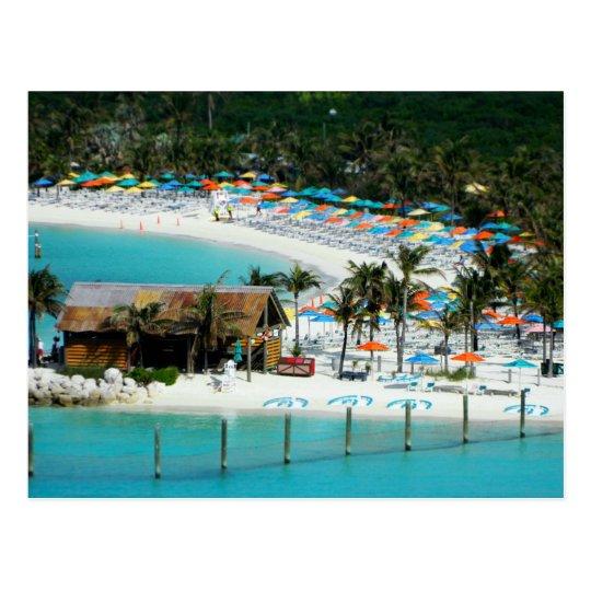 Carte Postale The Bahamas -  South Andros - Castaway Cay