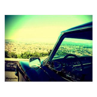 Carte Postale the car