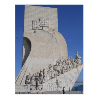 Carte Postale The Monument to the Discoveries (overview), Lisbon