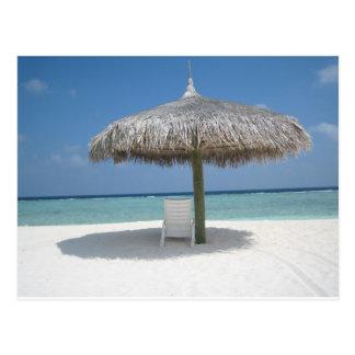 Carte Postale The Sun, mer, sable et la nuance