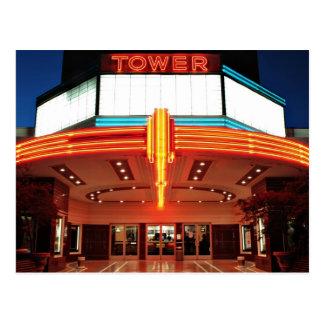 Carte Postale Théâtre de tour, Sacramento, la Californie