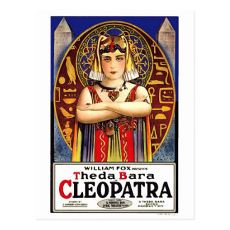Carte Postale Theda Bara en tant que film de cru de Cléopâtre
