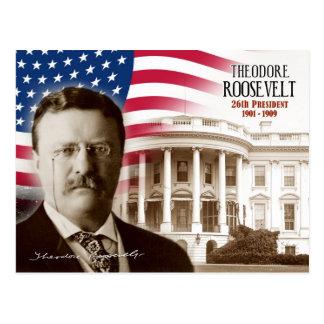 Carte Postale Theodore Roosevelt - 26ème président des