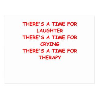 Carte Postale thérapie