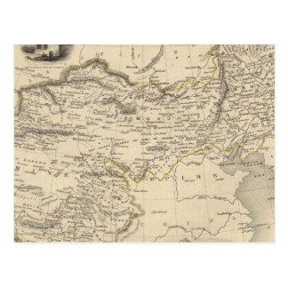 Carte Postale Thibet, la Mongolie, et Mandchouria