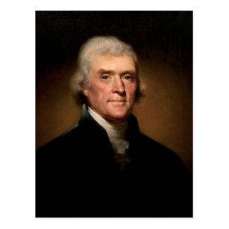 Carte Postale Thomas Jefferson