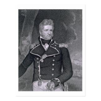 Carte Postale Thomas Macdonough (1783-1825) gravé par John B.