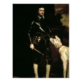 Carte Postale Thomas Wentworth, ęr comte de Strafford 1633-6
