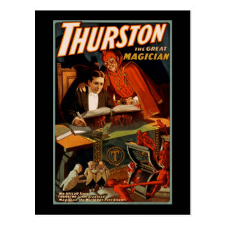 Carte Postale Thurston le grand magicien