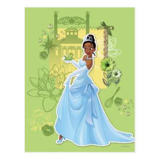 Carte Postale Tiana - princesse sûre