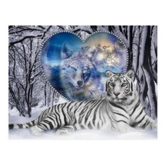 Carte Postale tijgertje