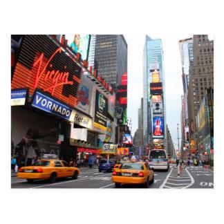 Carte Postale Times Square de New York City