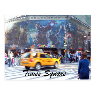 Carte Postale Times Square, New York City