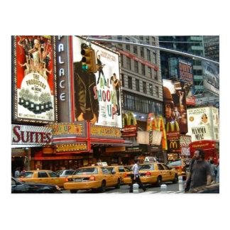 Carte Postale Times Square NY