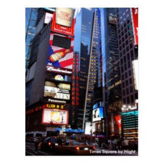 Carte Postale Times Square par nuit