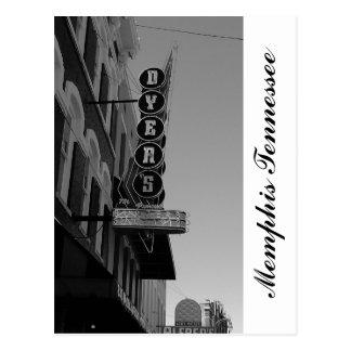 Carte Postale Tinctorial Memphis Tennessee