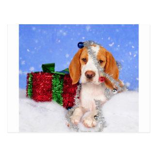 Carte Postale Tintement de beagle