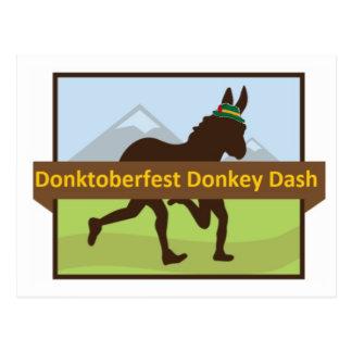 Carte Postale Tiret d'âne de Donktoberfest