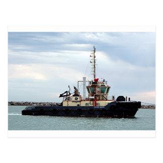 Carte Postale Tirez le bateau avec effort 2, port Adelaïde,