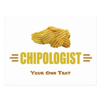 Carte Postale Titre drôle pour un amant de pommes chips