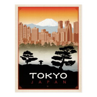Carte Postale Tokyo, Japon