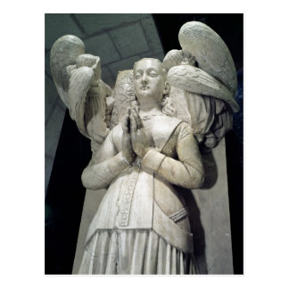 Carte Postale Tombe d'Agnès Sorel 1450-59
