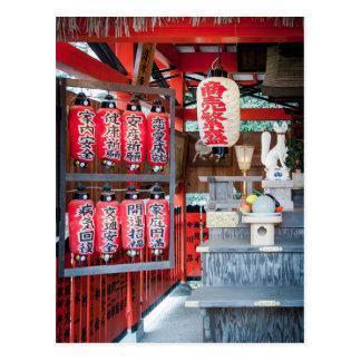 Carte Postale Tombeau de Jishu Jinja de Kyoto