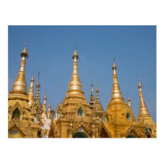 Carte Postale Tombeaux bouddhistes