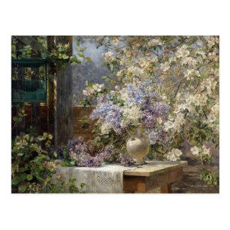 Carte Postale Tonnelle de floraison par Egner