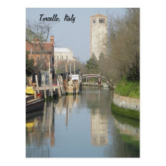 Carte Postale Torcello, Italie